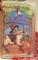 Pony Tales - Vol. 2 - Thunder And Lightning / The Big Race VHS Video Tape TBLO