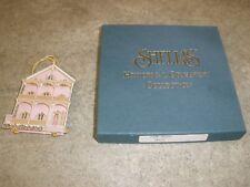 Shelia Shelia's House Ornament in Box Pink House