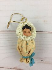 Enesco Friends of the Feather 1997 Eskimo Baby Papoose Ornament Unboxed