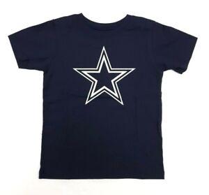 Dallas Cowboys Toddler Infant T-Shirt Navy Blue Premier Logo Cotton NFL