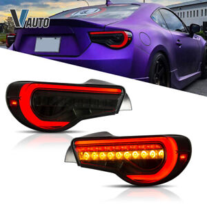 VLAND LED Tail Lights Fit For Toyota 86 & Subaru BRZ & Scion FR-S Rear Lamps Set