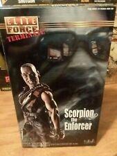 Elite Force Terminate Scorpion the Enforcer 2002 Blue Box NIB