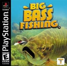 Big Bass Fishing - PS1 PS2 Playstation Game