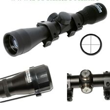 OTTICA SOFTAIR 4X32 SWISS ARMS 263858 +ANELLI SLITTA WEAVER AIRSOFT RIFLE SCOPE