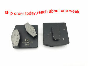 Metal Scraper Diamond Grinding Segment for Husqvarna Grinder Grit 16 soft Bond