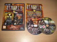 STALKER Radioactive Edition Pc DVD Rom inc CLEAR SKY + CALL OF PRIPYAT FAST POST