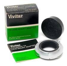Vivitar TX Lens Mount Adapter for Nikon - MINT