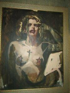 Michael Hussar original painting 24 x 30