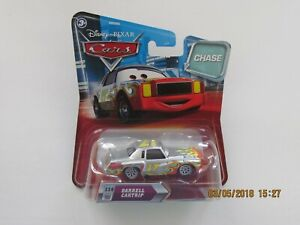 Disney Pixar Cars 2 DARRELL CARTRIP #114 CHASE CARS Hot CB-SS-GN