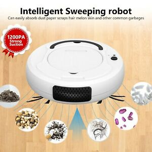 Rechargeable Floor Cleaning Robot Vacuum Cleaner Automatic Sweeping Machine