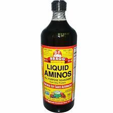 Bragg SOY SAUCE  Liquid Aminos All Purpose Seasoning GMO/Gluten Free  946ml