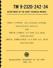 TM9 2320 242 34 ~ Direct & Gen Support Maint Manual ~ M561 ~ Gama Goat ~ Reprnt