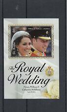 St Kitts 2011 MNH Royal Wedding 1v S/S Prince William Kate Middleton Catherine