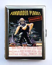 Forbidden Planet  Robot Cigarette Case vintage sci-fi movie poster pin up