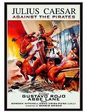 JULIUS CAESAR AGAINST THE PIRATES - 1962 - Gordon Mitchell - NEW / FREE SHIPPING