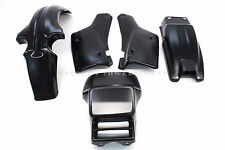 New 5 Pc Black Plastic Body Kit for Honda 83-87 XL600R Fenders Side Panels #Q65