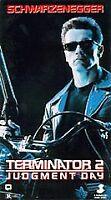Terminator 2 Judgment Day Vhs Video Tape Movie Arnold Schwarzenegger