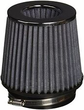 "Vibrant Open Funnel Perf Air Filter 5"" Cone OD x 5"" Tall x 4.5"" In Chrome Cap"