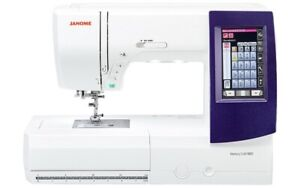 Janome Memory Craft 9850 Sewing and Embroidery Machine