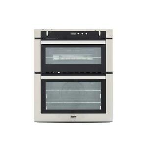 Refurbished Stoves SGB700PS Stainless Steel Double Built Under Gas Oven