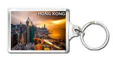 HONG KONG SKYSCRAPERS MOD5 KEYRING SOUVENIR LLAVERO