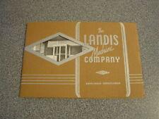 1950 Landis Machine Company Pictorial Catalog Brochure Book Waynesboro Pa