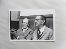 1976 B/W Photograph. Adrian Robertson (Man in Caravan). Two Old Men in Pub