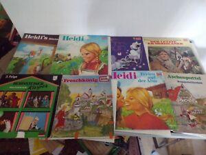 Schallplatten Vinyl LP kinder hörspiele  Konvolut 46 stück