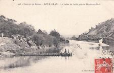 PONT-REAN 423 la vallée de Laillé près le moulin du boël timbrée 1910