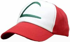 More details for uk seller pokemon ash ketchum cap embroidered hat one size white/red unisex hat