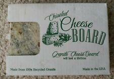 """The Chiseled Cheese Board /Thick Granite Cutting Board  9""""x6""""  NEW"""