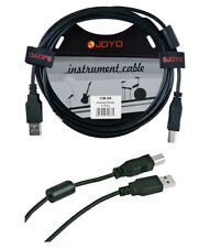 Joyo cm-09 A a B Spina Schermato USB Cavo dati di strumenti musicali, lunghezza 6 FT
