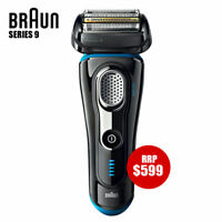 Braun Series 9 Men Electric Foil Shaver Wet/Dry Precision Trimmer Recharge BLACK