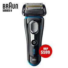 Braun Series 9 Men Electric Foil Shaver Wet/Dry Precision Trimmer Recharge BLACK