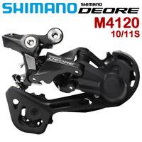 Shimano Deore RD M4120 Rear Derailleur SGS 10 Speed 11 Speed Mountain Bike MTB