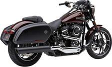 Cobra 909 Twins Slip-On Muffler Black #6520B Harley FLSB Softail Sport Glide