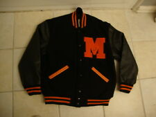 Morgan State Bears Track & Field authentic Letterman NCAA Jacket Men's Size S