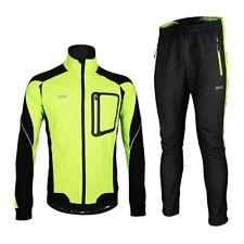 Chaqueta de ciclismo para hombre de invierno pantalones para Bicicleta Bici térmica a prueba de viento conjunto Traje de Ropa