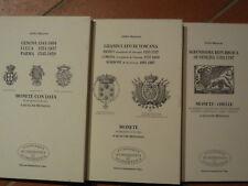 3 cataloghi di monete e medaglie Venezia Toscana Genova Lucca Parma