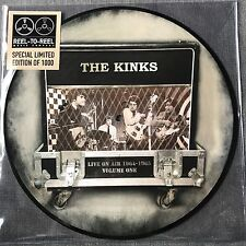 The Kinks - Live On Air 1964 - 1965 - Vinyl LP Picture Disc Brand New - LTD EDT