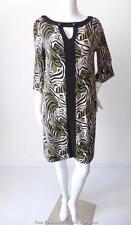 LEONA EDMISTON RUBY - NEW -  Size 1 AU 8 - 10 US 4 -6  3/4 Sleeve Shift Dress