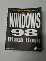 Windows 98 Black Book : Ultimate Problem Solver For Power User by Nathan Wallace