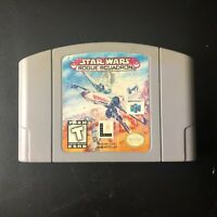 Star Wars: Rogue Squadron Video Game (Nintendo N64, 1998) Used & Tested