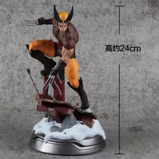 Wolverine Brown Costume Figure Statue Collectibles 10 inch