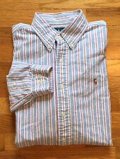 POLO Ralph Lauren Button Down Classic Fit Pony Dress Shirt Men's Size 16 1/2 -36