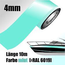 ZIERSTREIFEN 10m MINT 4mm Auto Boot Jetski Modellbau Vinyl Dekorstreifen Minze