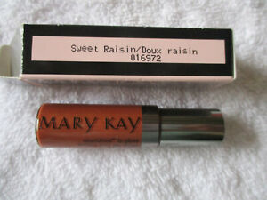 Mary Kay Lip Gloss Sweet Raisin 016972 Black and Pink Box