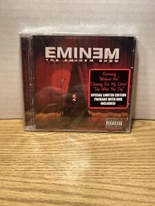 New CD & DVD! Eminem -The Eminem Show [PA] [Limited] 2002, sealed!