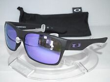 NEW OAKLEY TWOFACE SUNGLASSES OO9189-08 Matte Black / Violet Iridium