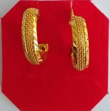 Style Fashion Women & Girl Jewelry Earrings Indian Traditional Gold Plated Bali